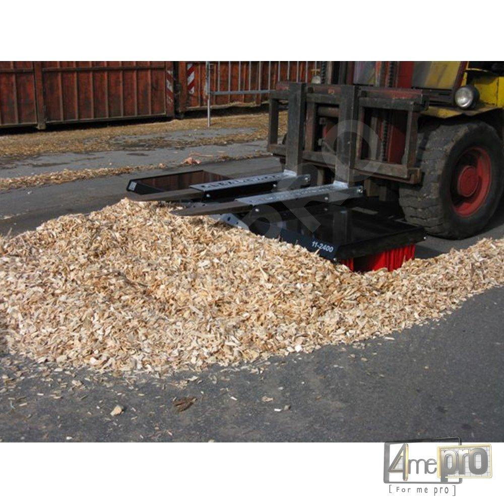 Balai pousseur pour Scierie et Sciures de bois