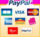 Réglez votre commande en toute sécurité avec Paypal